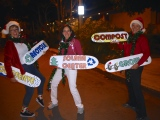 Upcycled Skateboards for the Encinitas Holiday Parade!