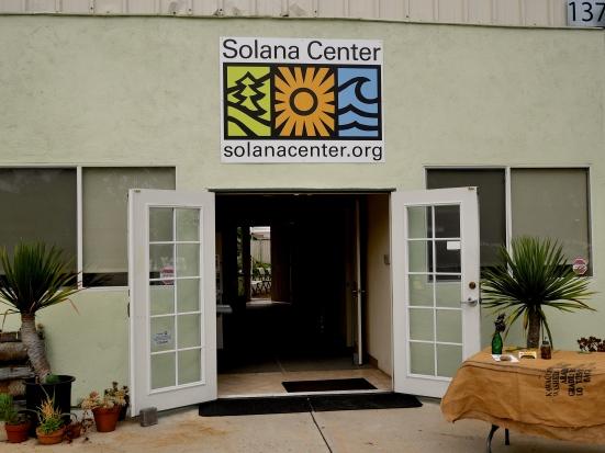 Solana Center, Garden, Front door