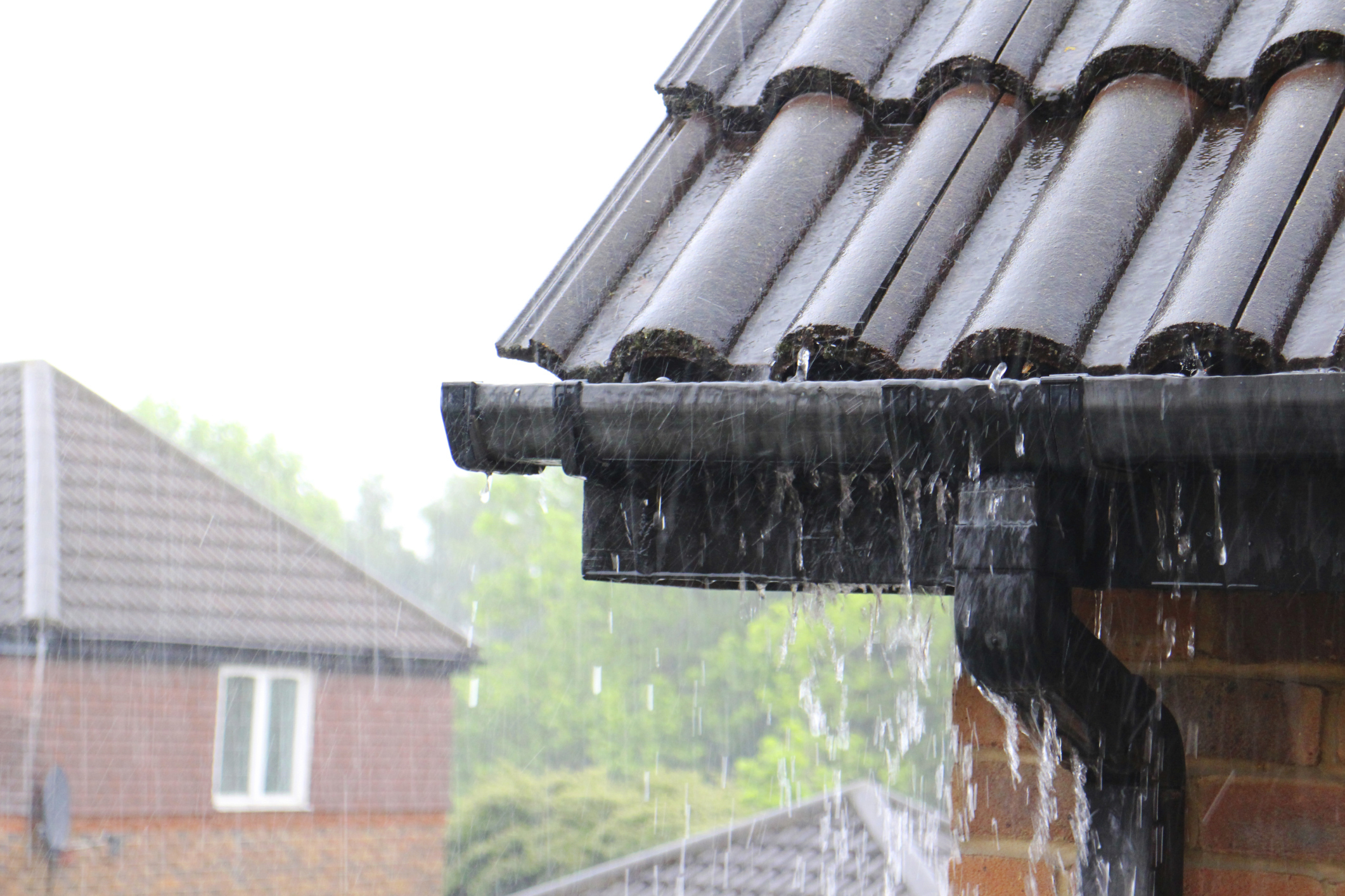 Roof Rain Amp Rain Gutters Provide A Number Of Benefits